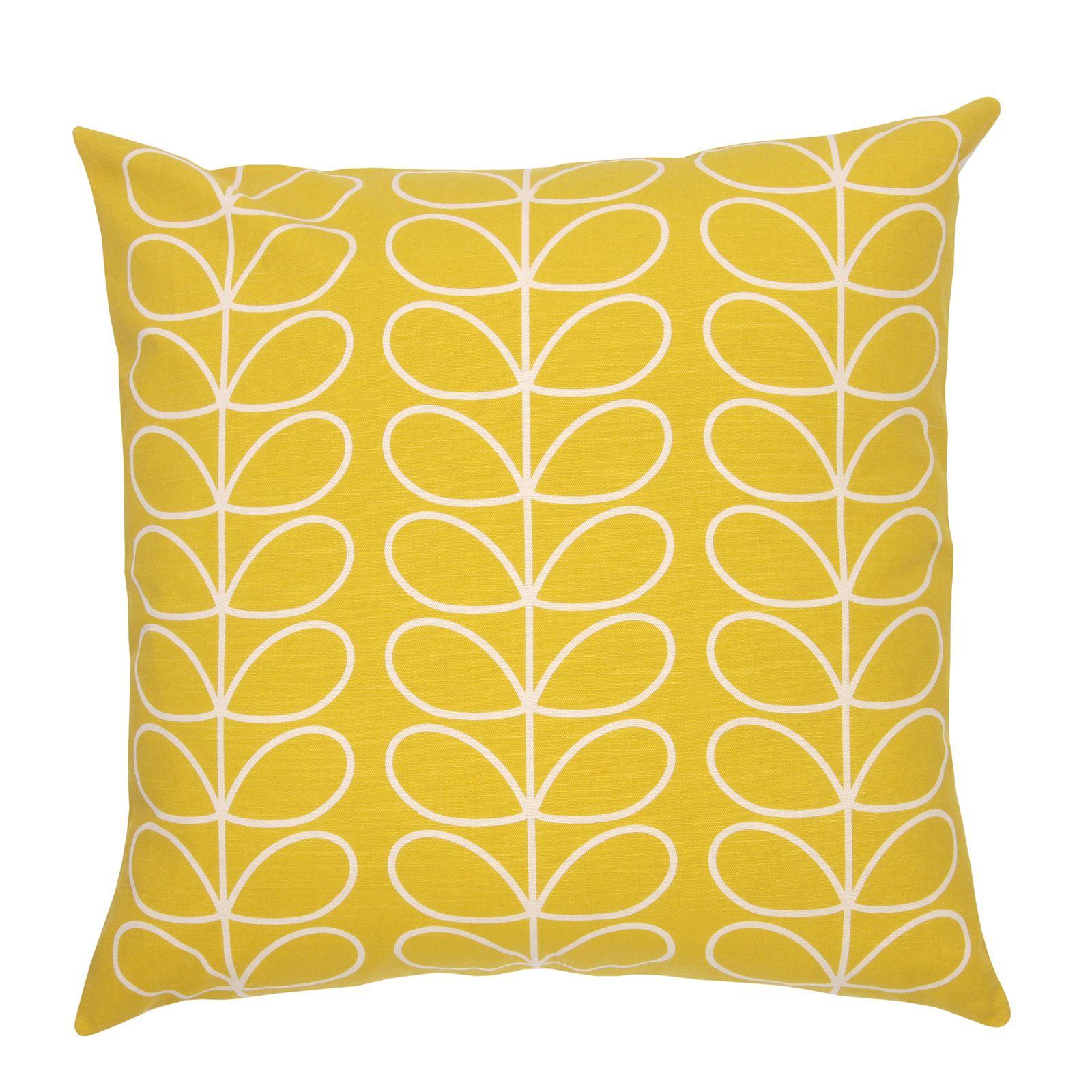 Orla kiely linear stem wallpaper - Orla Kiely Uk House Living Tiny Linear Stem Cushion 0cuslst655