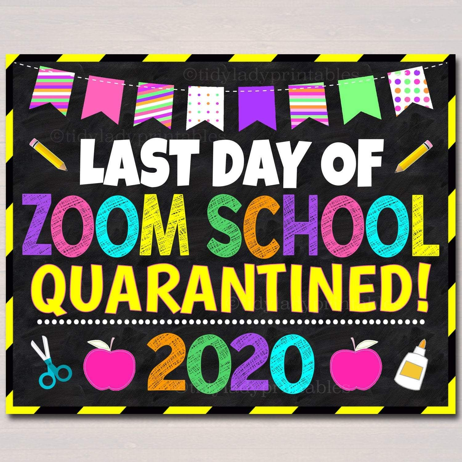 Pin On Last Day Of School Signs