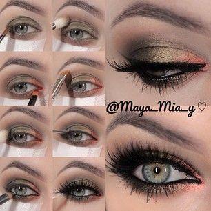 .@maya_mia_y   Pictorial of today's look 1.Apply Mac Xtreme Mettalics Vintage Coin cream s...   Webstagram - the best Instagram viewer