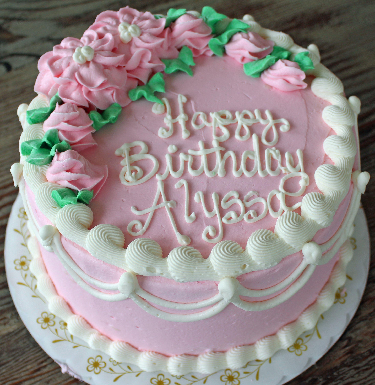 Pleasing Victorian Rose Garden Happy Birthday Alyssa With Images Birthday Cards Printable Nowaargucafe Filternl