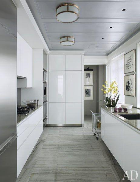 White Kitchens Design Ideas Küche, Schöner wohnen und Dekoration - dunstabzugshaube kleine küche