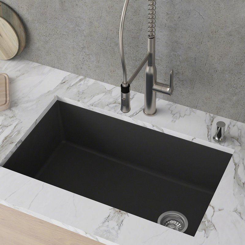 31 Granite Composite Drop In Single Bowl Kitchen Sink With Drainboard Lavello Luxor 100lt Lavello Sinks Composite Kitchen Sinks Kitchen Sink Design Granite Kitchen Sinks