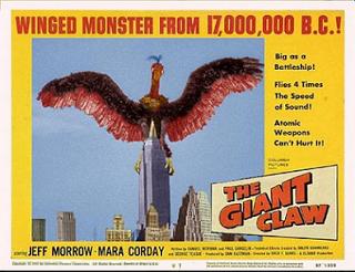 http://craignosmonsters.blogspot.fr/2012/07/giant-claw-1957.html