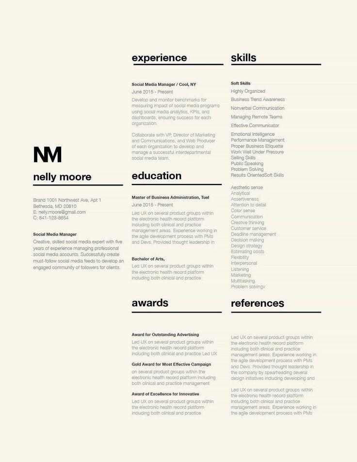Classic Resume Template (120360) graphicprints Explore