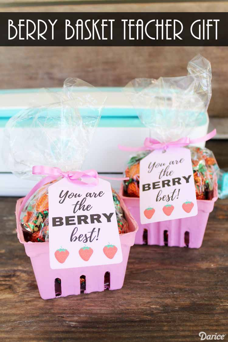 Teacher Appreciation Idea Berry Basket Gift Darice School
