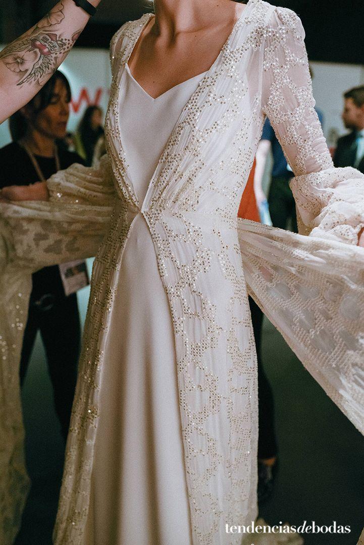 Los detalles del vestido de novia de María Pombo (y otros diseños similares para inspirarte).