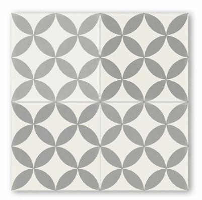 Cement harold black + metal square 8