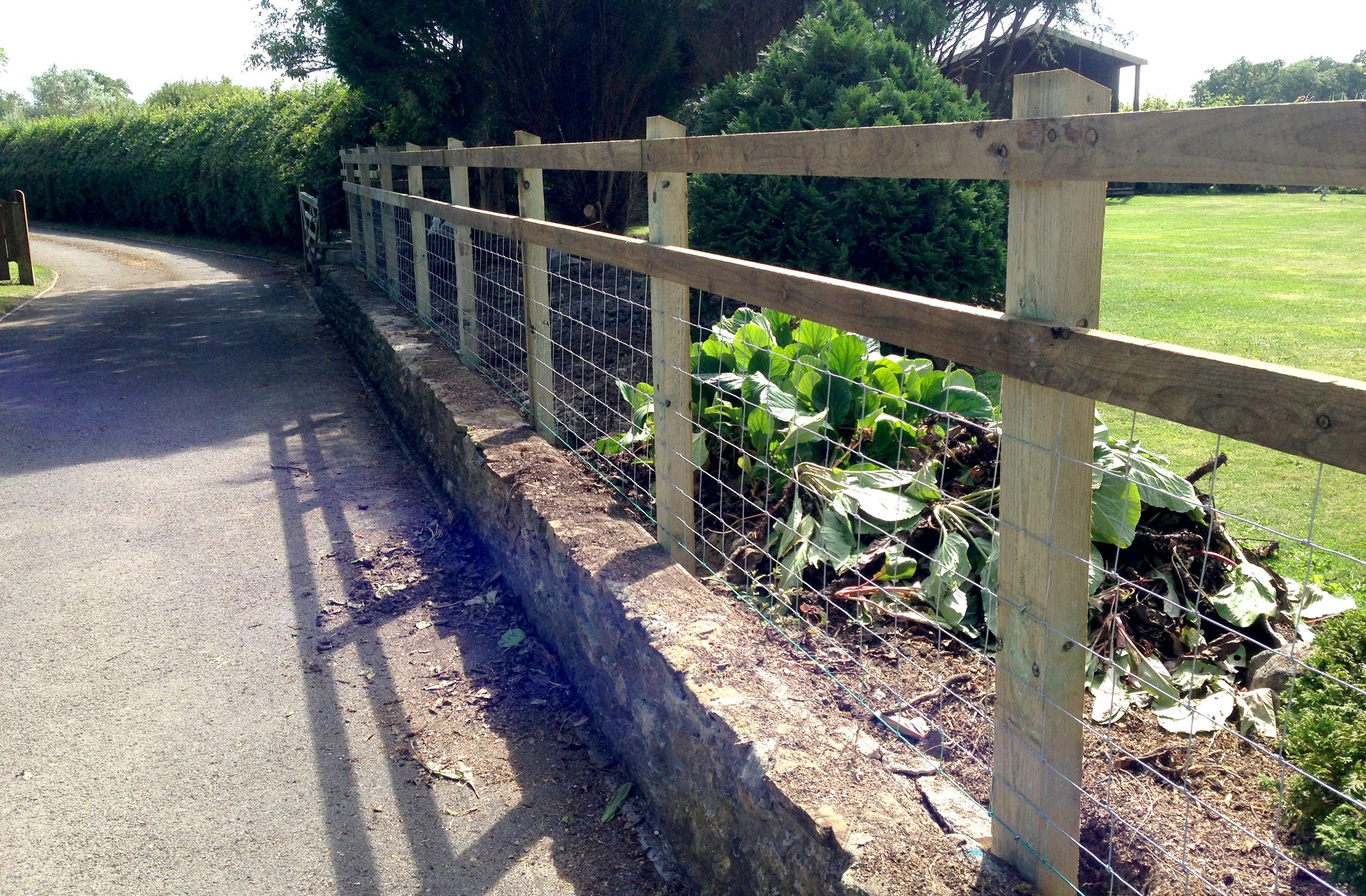 Dorset Garden Fencing • Fencing for Paddocks, Gardens, Stock Fencing ...