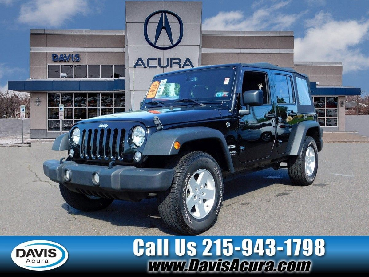 Used Jeep Wrangler Lovely 2018 Used Jeep Wrangler Jk For Sale At