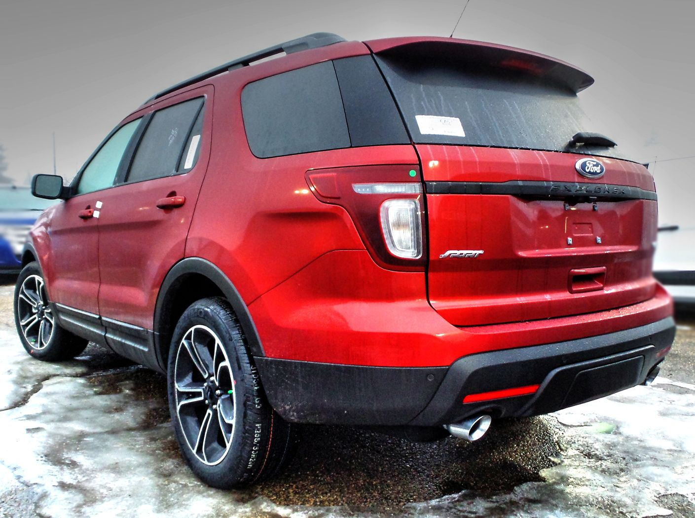 2015 Ford Explorer Sport in Ruby Red Metallic Tinted