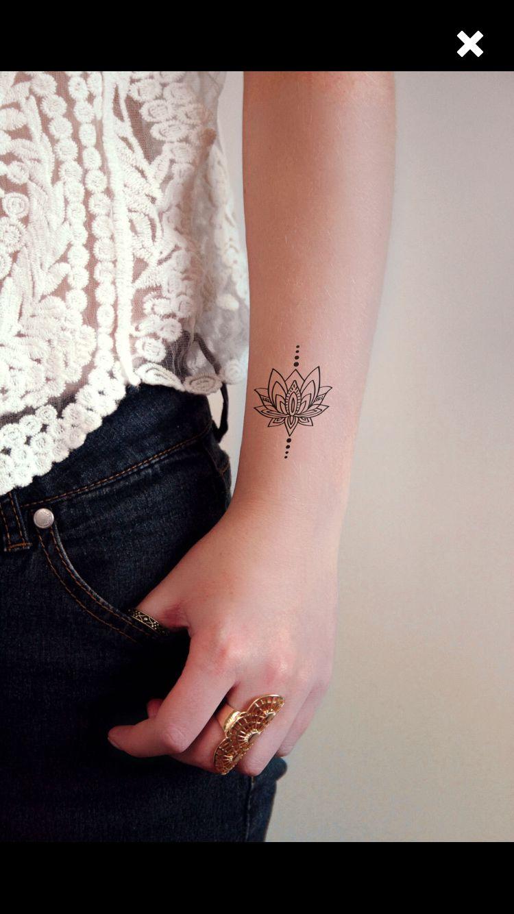 Size And Placement Small Mandala Tattoo Mandala Tattoo Tattoos