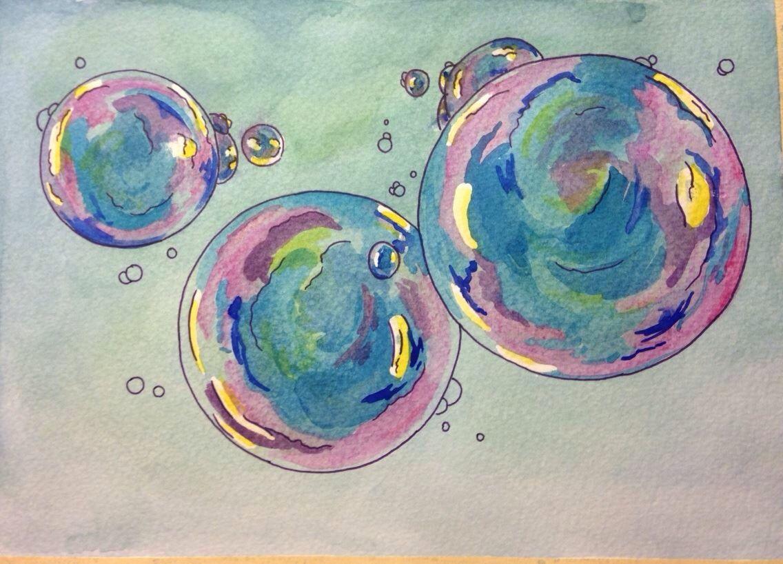 Watercolor by Katarina Henrikson