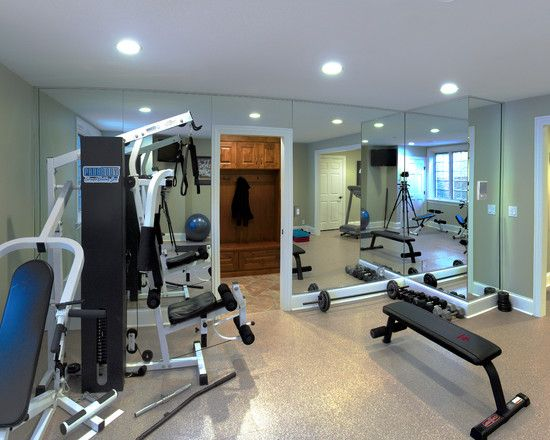 Home Gym Design Pictures Remodel Decor And Ideas Page 29 Home Gym Design Basement Workout Room Home Made Gym
