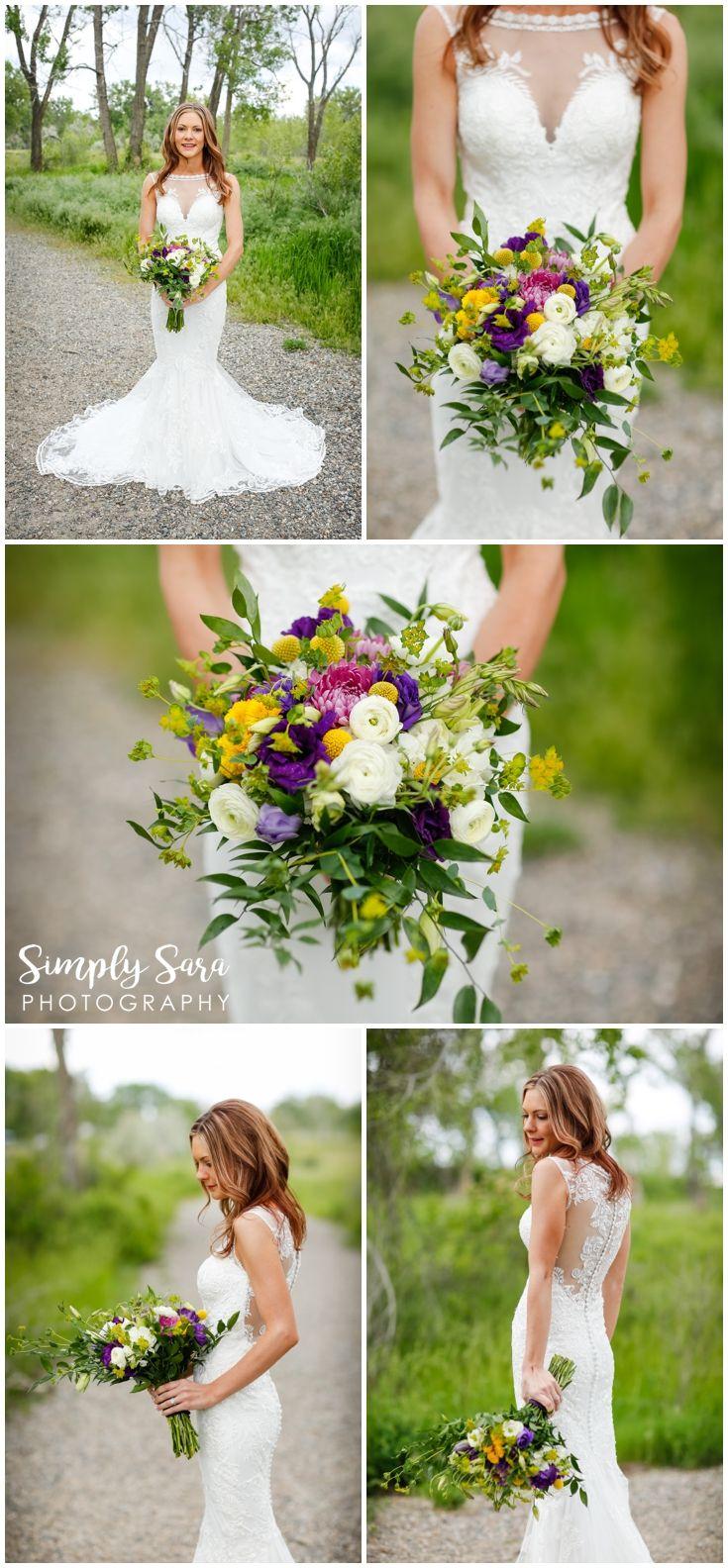 Wedding Photo Ideas & Poses - Bride - Wedding Dress with Lace ...