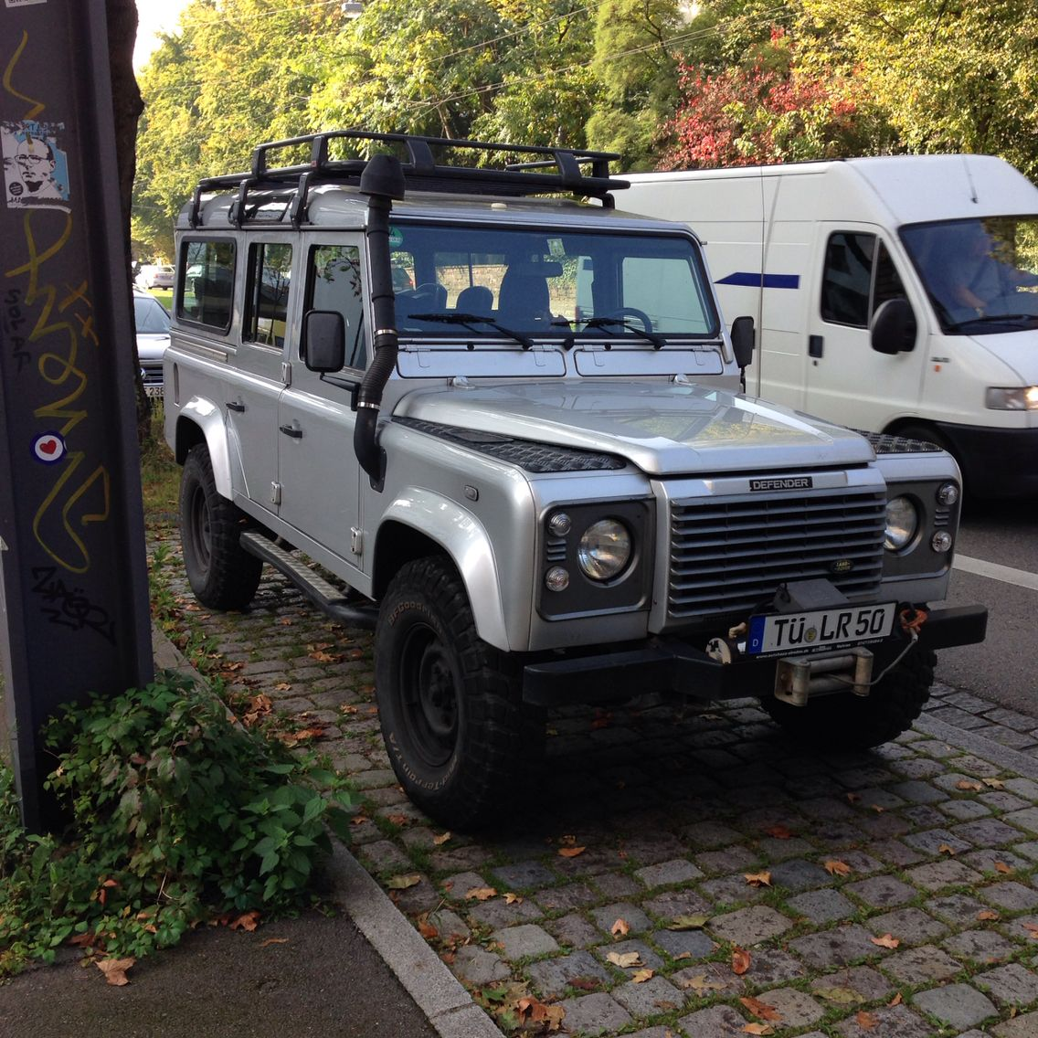 Df 110 Td5 Sw Indus Silver Defender Car Land Rover Land Rover