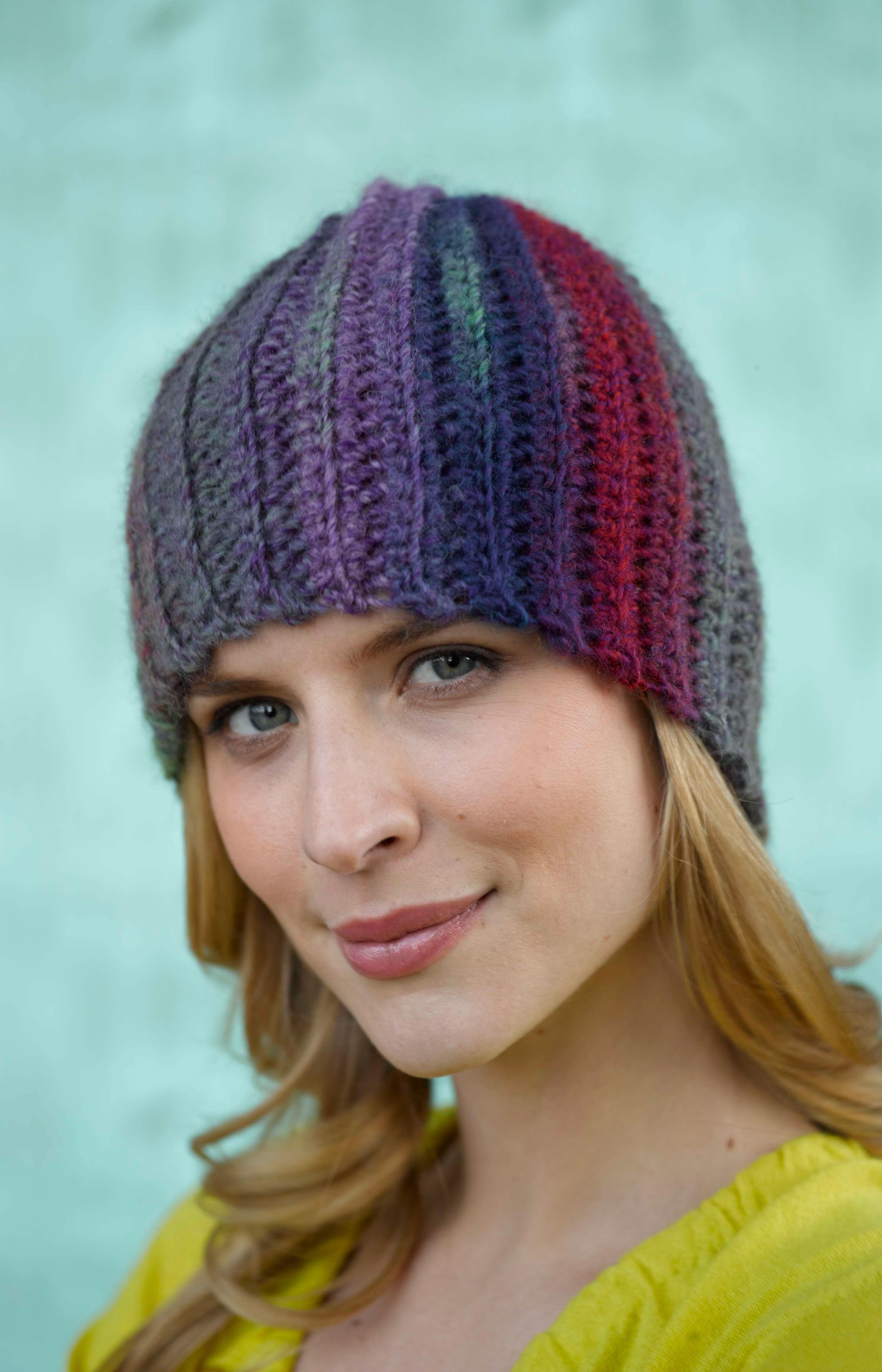Easy Sideways Hat (Crochet) | Beanies | Pinterest