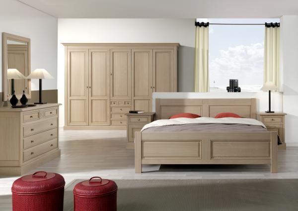 Chambres à coucher en chêne - cerisier et hêtre - Chambres à coucher