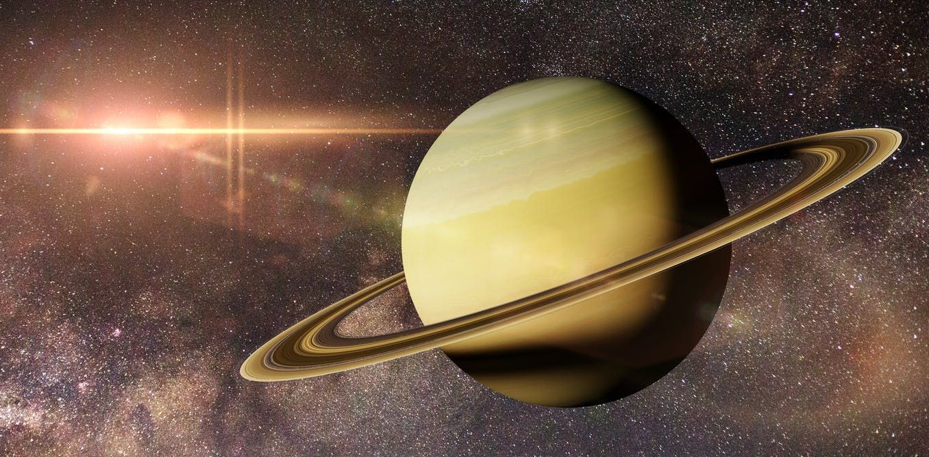 Curious Kids Why Does Saturn Have Rings Saturn Saturn