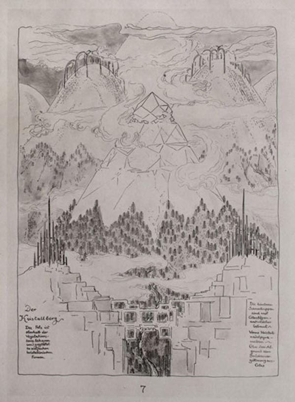Bruno Taut Alpine Architecture A Utopia