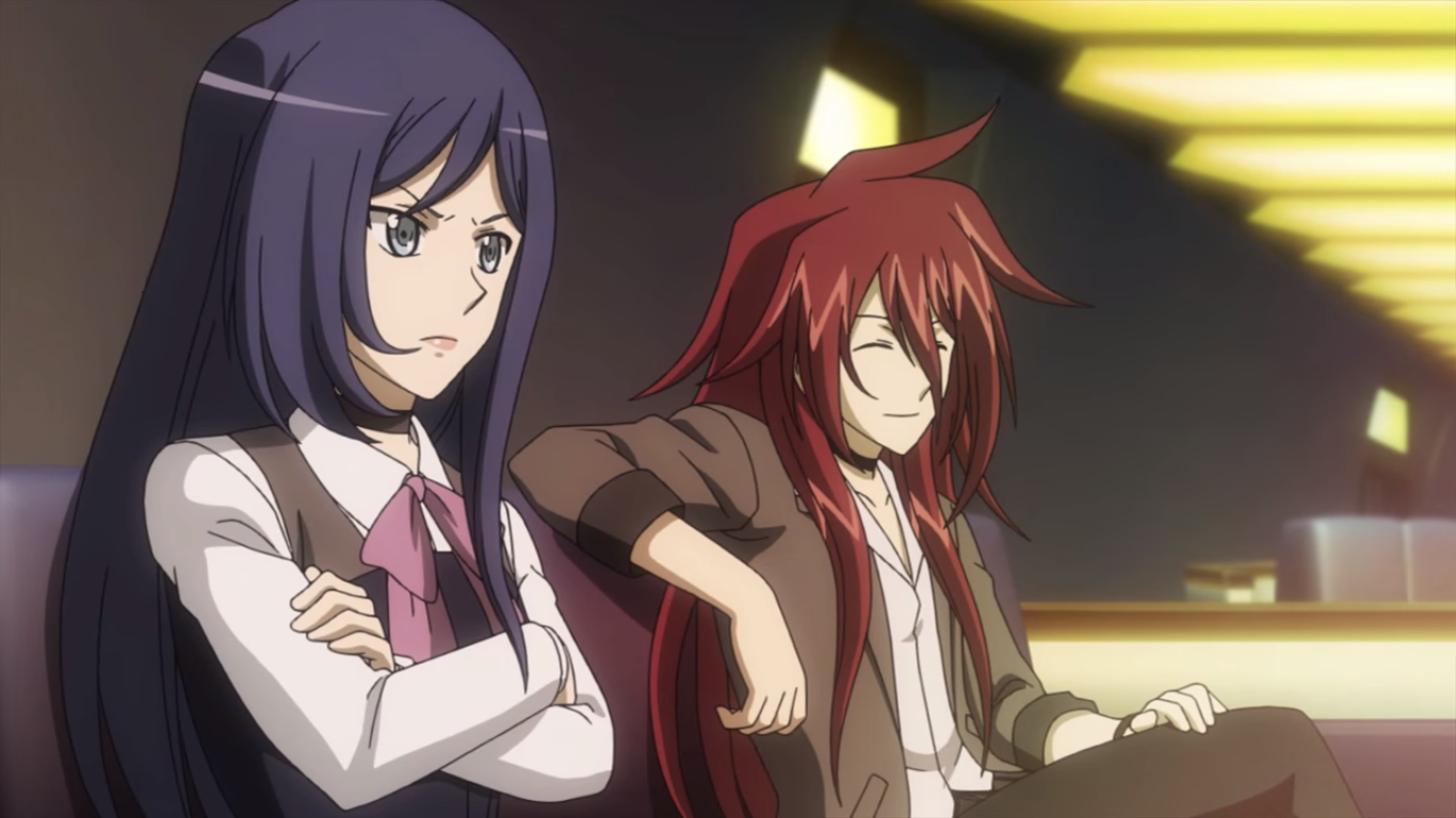 G Anime Character : Cardfight vanguard g asaka and ren