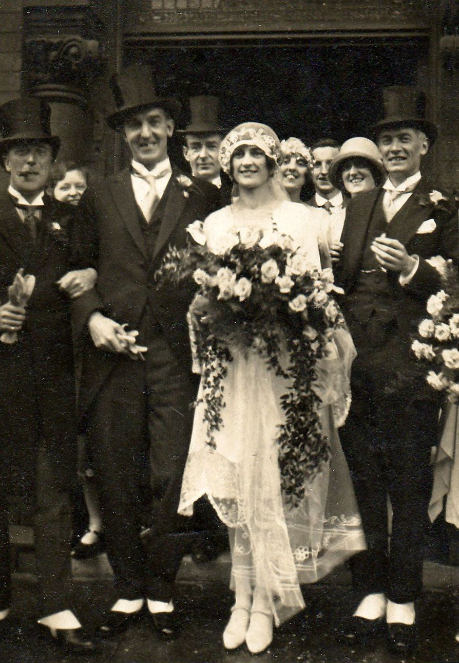 Old photo jolly wedding party 1920s wedding 1920s and old photo jolly wedding party junglespirit Gallery