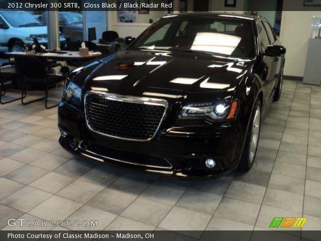 Chrysler 300 Srt8 Gloss Black 2012 Chrysler 300 Srt8 Black