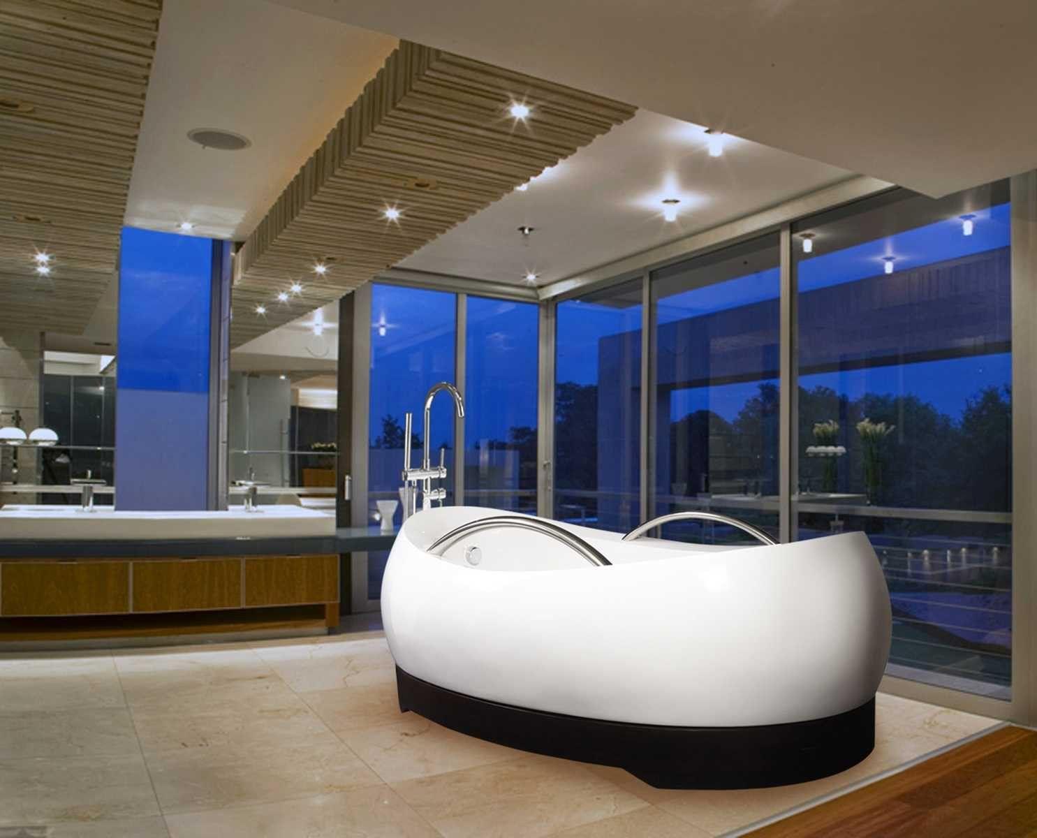 Susser Luxus Badewannen Mit Ovaler Freistehender Badewanne Auch Kleinen Pantoffel Badewanne Badezimmer Luxus Badewanne Badewanne Luxus