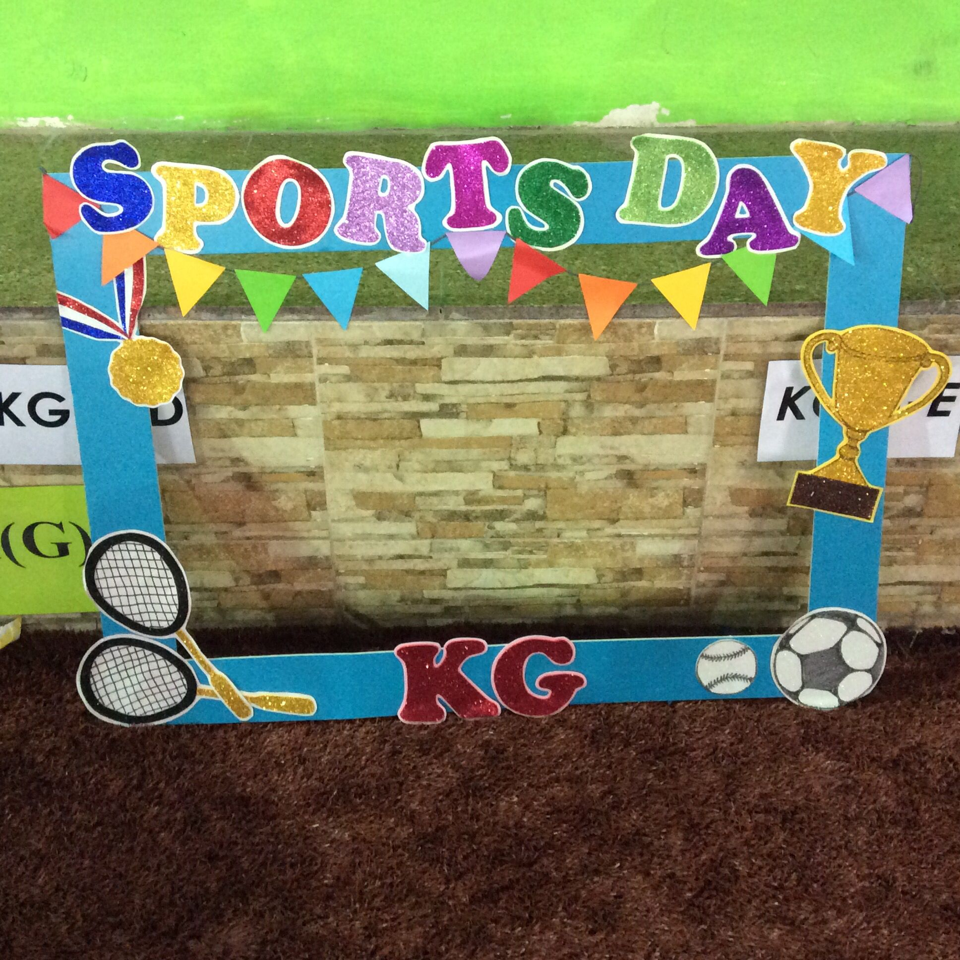 Sports Day Photo Frame Sports Day Photos Sports Day Decoration Sports Day Kindergarten