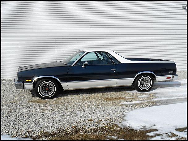 1982 Chevrolet El Camino 350 Ci 11 705 Miles Mecum Auctions Chevrolet El Camino El Camino Chevrolet