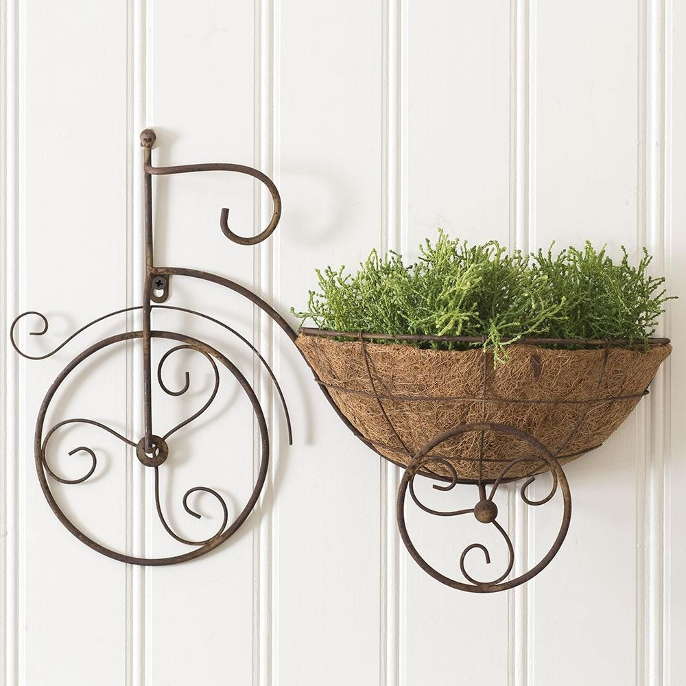 Bicycle Wall Planter In 2019