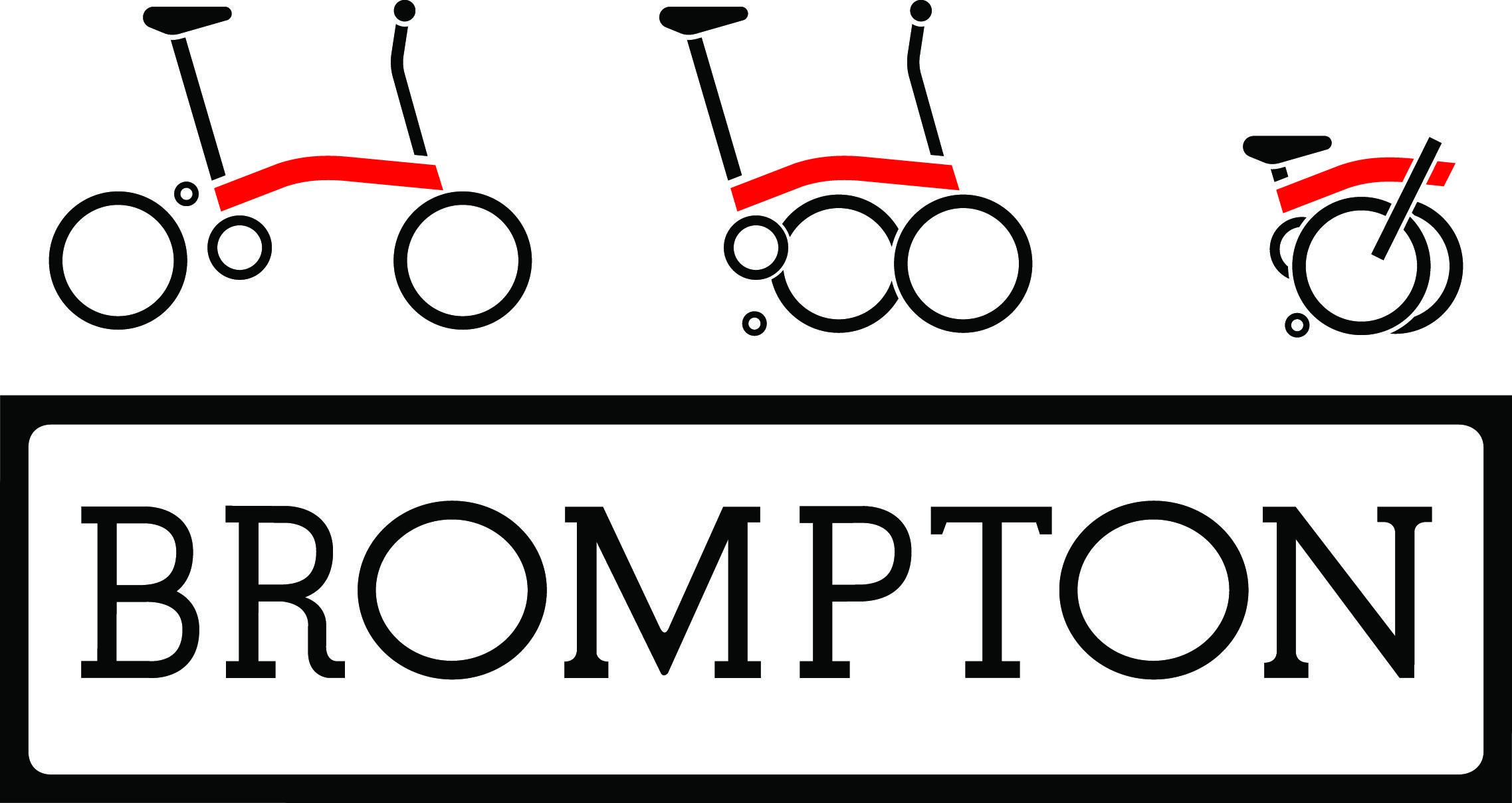 「brompton ロゴ」の画像検索結果