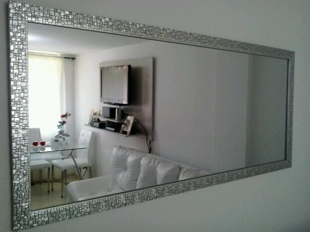 Espejos biselados para sala buscar con google casa for Espejos rectangulares para sala