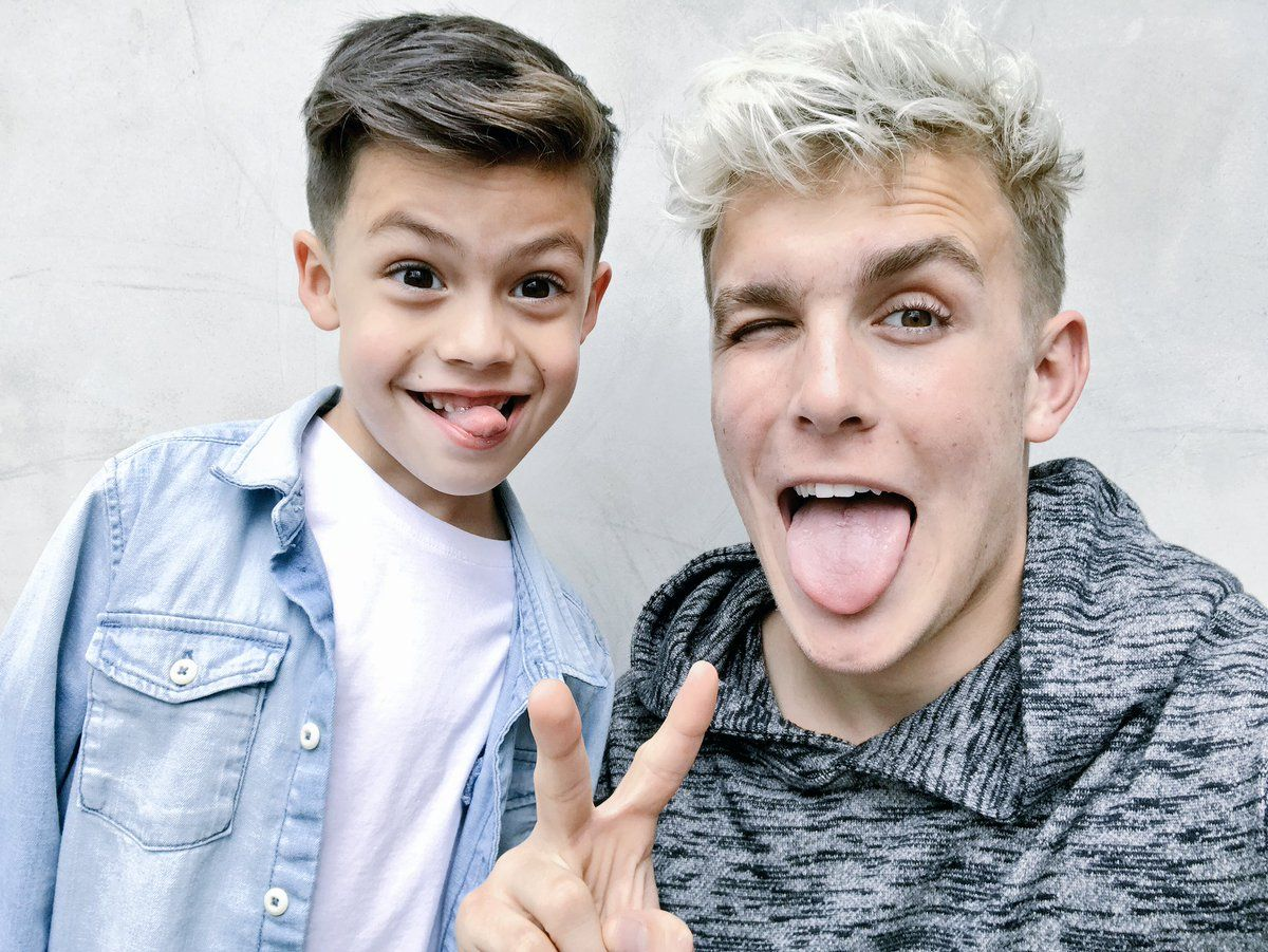 Jake Paul and the savage kid that went into his house and ...
