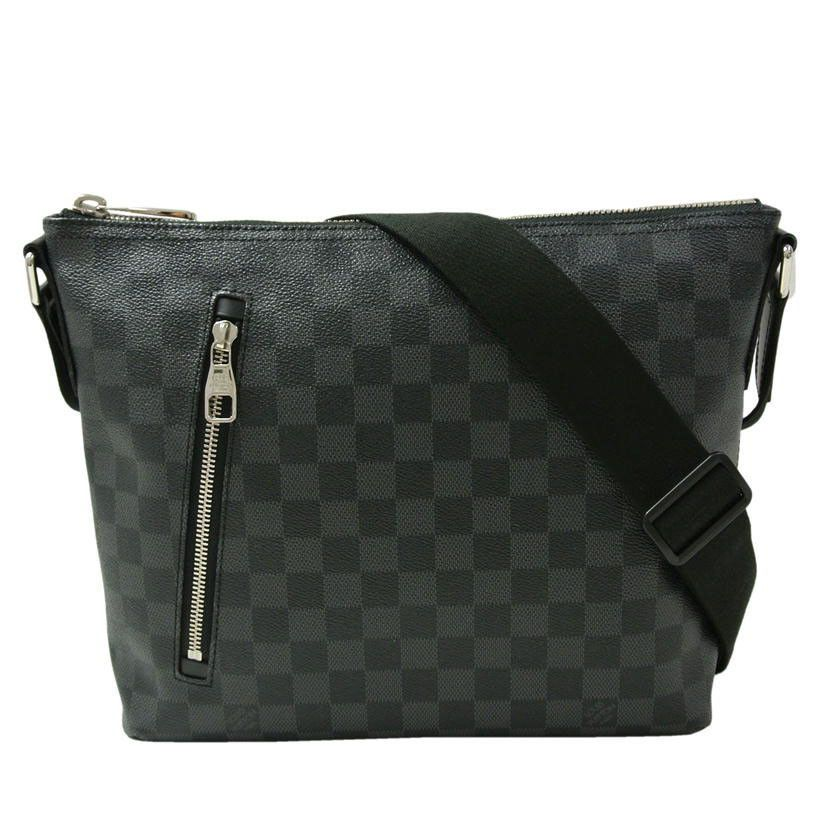c4bb40bf5a6 eBay  Sponsored Louis Vuitton N41211 Shoulder Bag Mick PM Damier Graphite  Mens FS Mint  1064