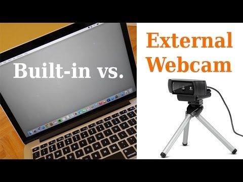 44d40b548e6 Webcam Comparison: Logitech C920 vs, MacBook Pro Facetime Camera - YouTube