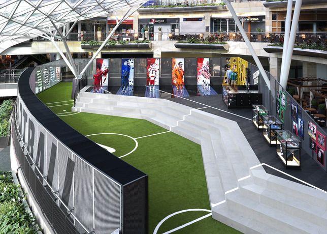 9d6961b8ab  Nike Football Stadium. Arquitectura  EfímeraMostradoresDecretoComercialEventosOficinasDeporteTiendasInteriores