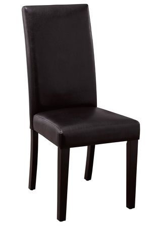 Hometrends Parsons Dining Chair Brown Walmart Ca Parsons