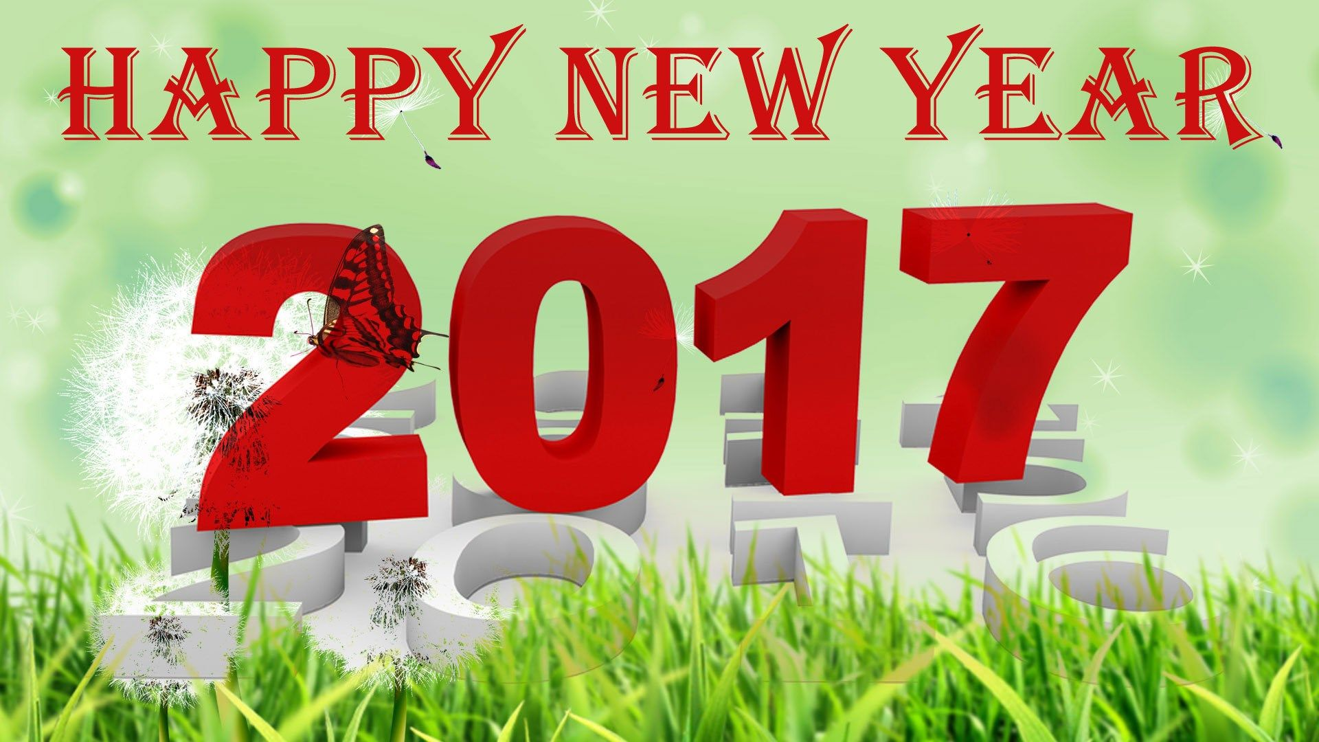 Amazing HQ Definition Wallpaper Desktop Happy New Year 2017 Image   Happy New Year  2017 Category