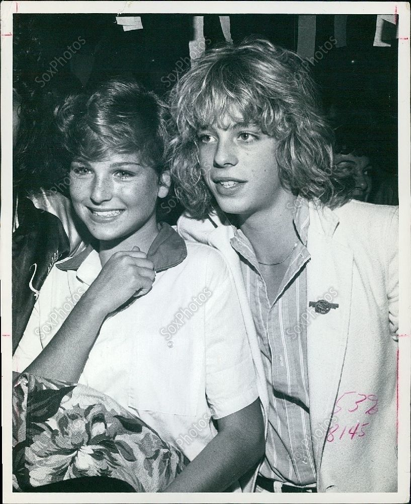 1978 Child Stars Tatum O'Neal & Leif Garrett Concert Foreigner At Forum Photo