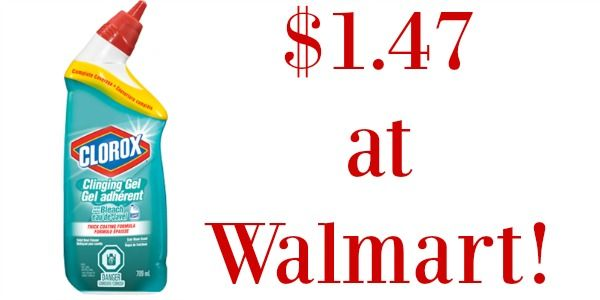 Get Clorox Toilet Bowl Cleaner For 1 47 At Walmart Http Wp Me P56eop Nfl Clorox Toilet Bowl Cleaner Toilet Bowl