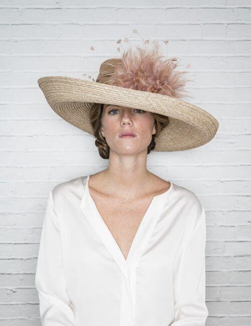 Pamela gala nude claro +s+ pl | tocados | Pinterest | Sombreros ...
