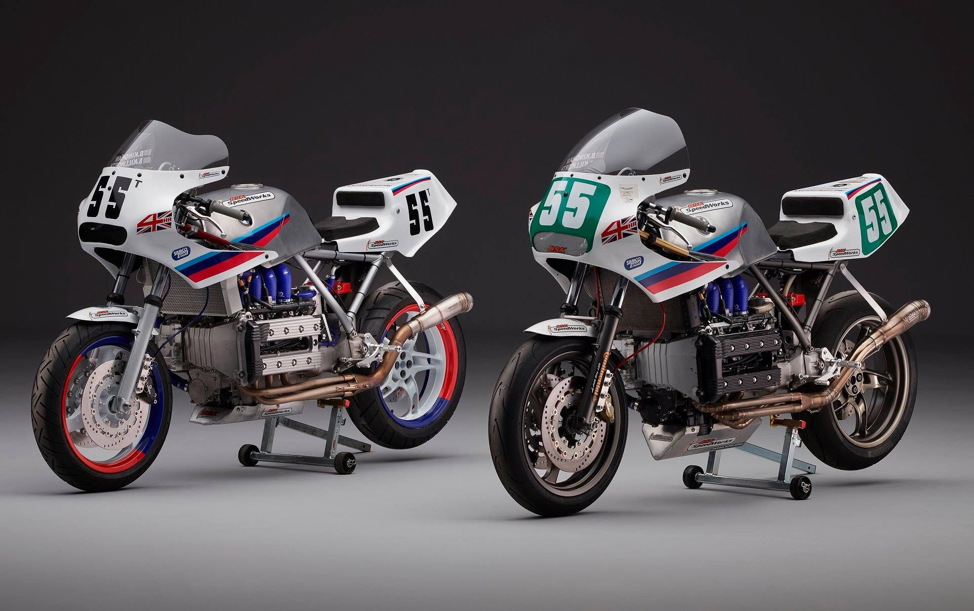 Check Out This Pair Of Bmw K100 Classic Endurance Race Bikes From