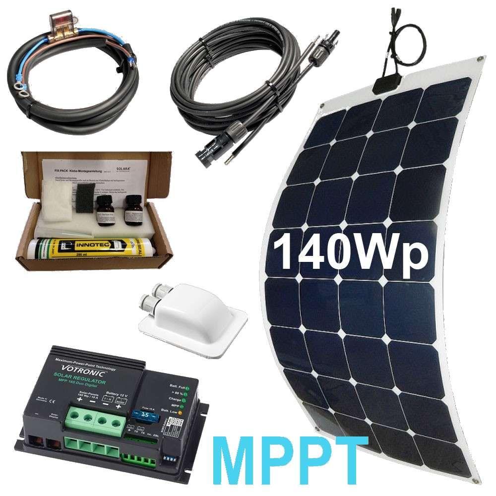 Solarset 9Wp MPPT  Solaranlage wohnmobil, Wohnmobil, Solar