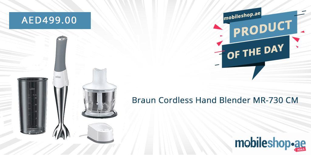 Braun Cordless Hand Blender Mr 730 Cm Hand Blender Cordless Blender