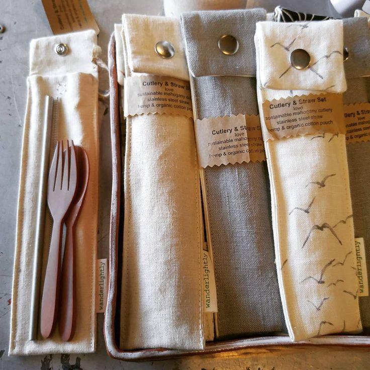 Zero-waste travel cutlery! #craftsaleitems