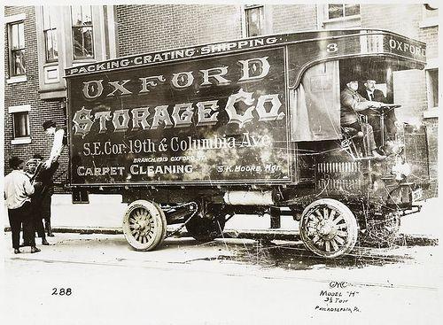 Model H Reliance Gmc As Improved In 191 Oxford Storag Gmc Moving Van Trucks