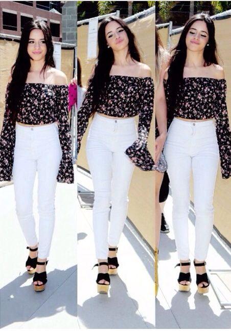 Camila cabello black outfit