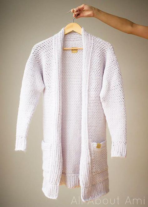 20 Free Crochet Sweater Patterns Perfect for Chilly Days | Häkeln ...