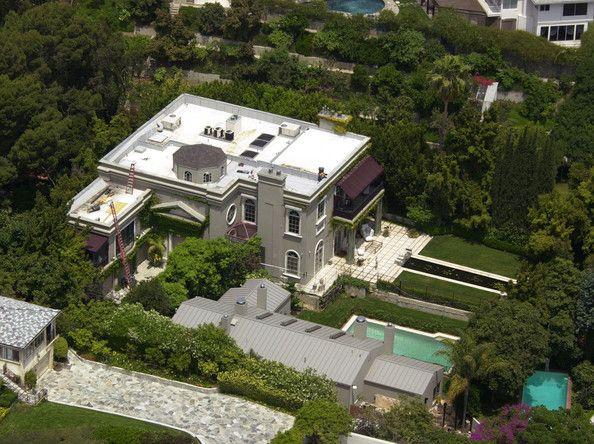 Celebrity Homes Celebrity Houses Stone Houses Sharon Stone
