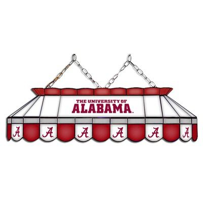 Alabama Crimson Tide Stained Glass Pool Table Lamp Glass Pool Stained Glass Lamps West Virginia